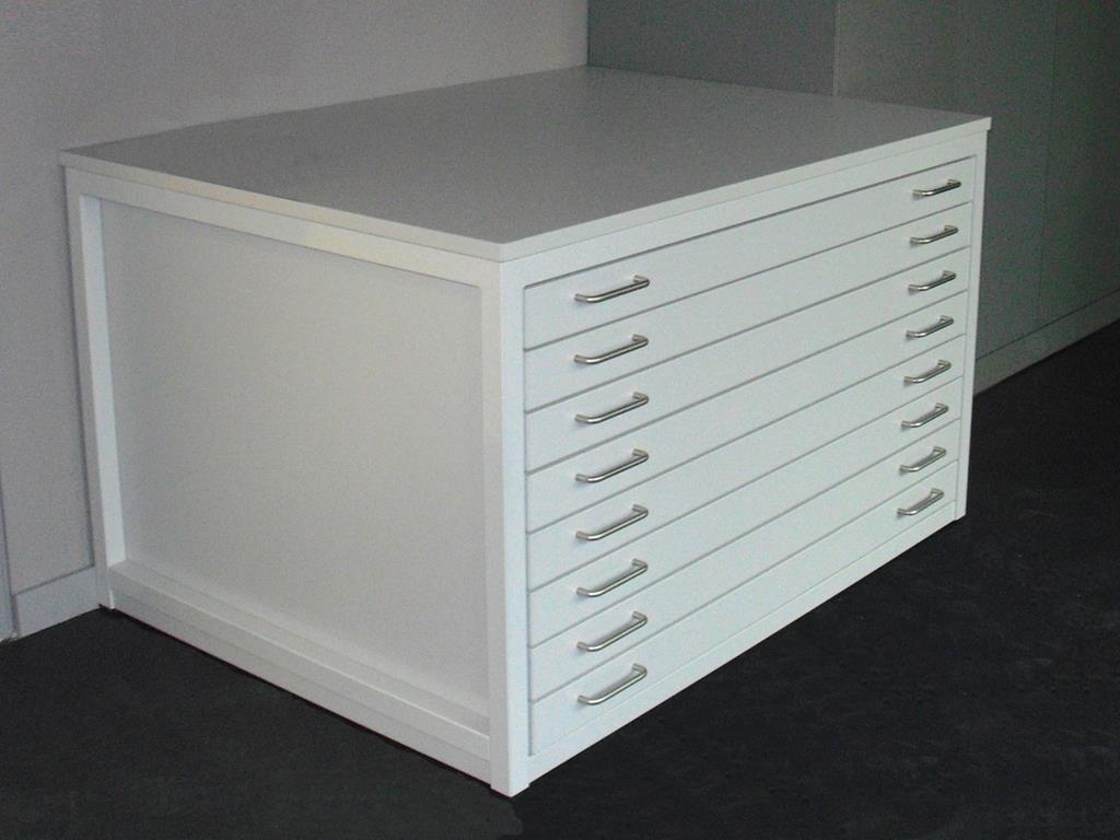 Schubladenschränke (Planschrank Flachablage) von Deitenbach - Made ...