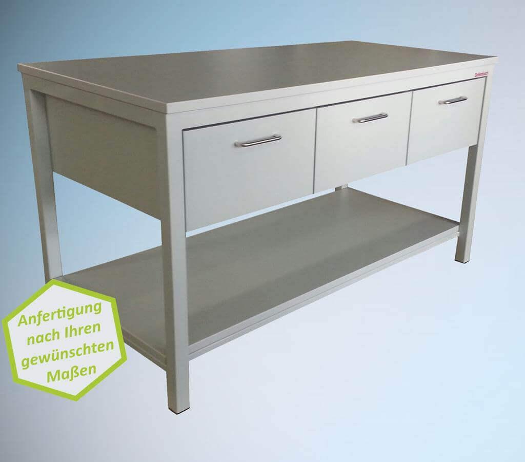 Arbeitstische, Rolltische und Tischwagen/Laborwagen - Made in Germany